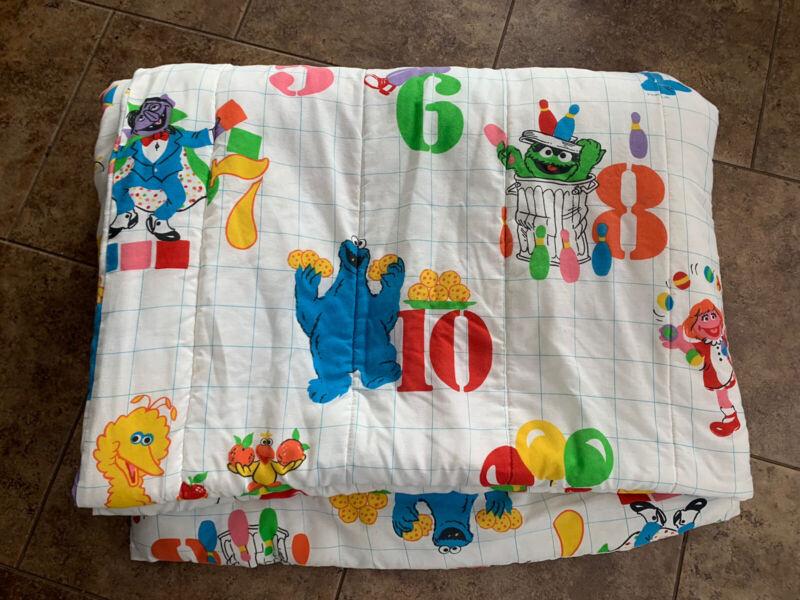 Vintage Sesame Street Twin Comforter