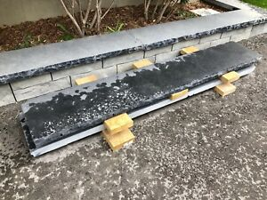 "6ft x 1ft x 2"" natural stone coping new"
