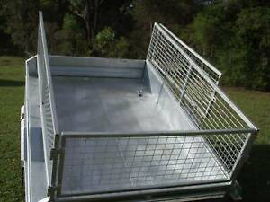 Brand New 7 x 5 Tilt Trailers Complete package Cage and Spare Included Morisset Lake Macquarie Area Preview