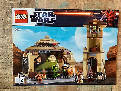 LEGO Star Wars Jabba's Palace (9516) COMPLETE SET