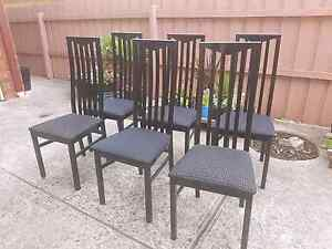 Dining  chairs  ( 6 ) Roxburgh Park Hume Area Preview