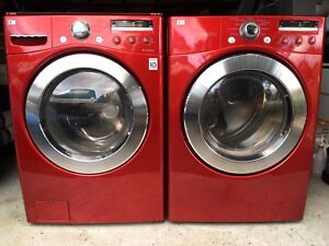 LG TROMM WASHER AND DRYER