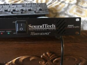 Sound tech ps802 Amplifier