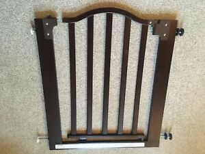 "Decorative Wood Swing Gate 28-33"" in excellent condition"