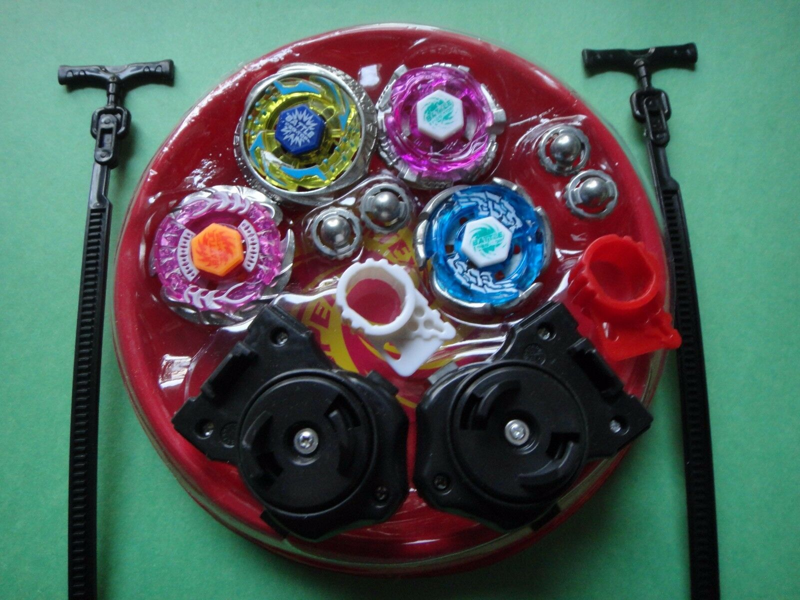 New 4D Lian Fa Clash Tornado Metal Fusion Beyblade Speed Top