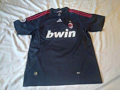 2008/09 AC Milan ROSSONERI Third Jersey Adidas soccer futbol mens Large