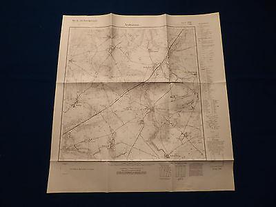 Landkarte Meßtischblatt 2161 Arnhausen / Lipie (Rąbino), Pommern, Köslin, 1945
