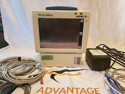 Welch Allyn Propaq Cs 242 Patient Monitor - Ecg Bp Spo2 Temperature