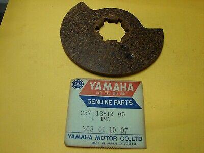 NOS OEM YAMAHA 257-13512-00 ROTARY VALVE - JT1L JT2 JT1 JT2MX 1971-1972, used for sale  Ransomville