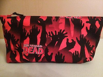 Walking Dead / Zombie Handmade Make Up Bag / Art Case (Walking Dead Makeup)