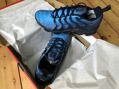 Nike Air Vapormax Plus - New - Obsidian Blue, Size 9