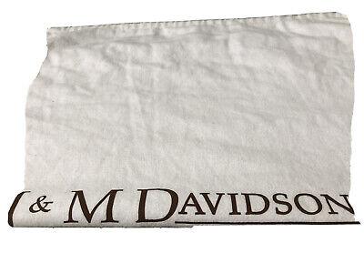 J & M Davidson Large Cotton  Drawstring Dust Bag 25 X 21 Inches