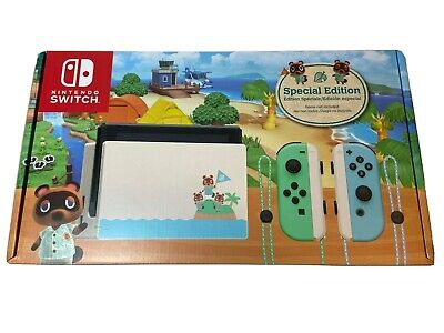 Nintendo Switch Animal Crossing Special Edition *Sealed In Box*