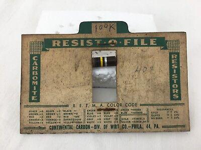 Vintage Carbomite Resistor
