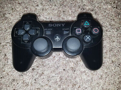 Official Sony PlayStation Dualshock 3 Controller - Black PS3 OEM