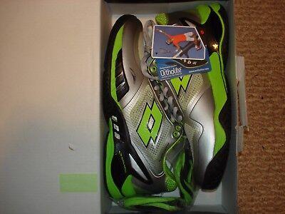 Nib Lotto Raptor Evo Speed Mens Tennis Shoes R7098 Silver