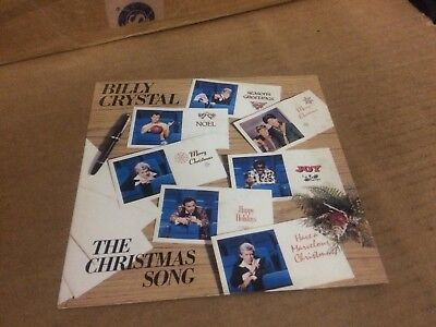 BILLY CRYSTAL THE CHRISTMAS SONG  PIC SLEEVE ONLY NO RECORD  7