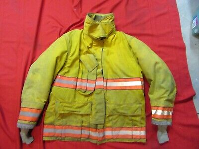 2007 Globe Gx-7 Drd 46 Chest X 32 Firefighter Jacket Coat Bunker Turn Out Gear