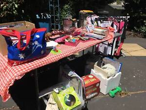 Garage sale over 2 days from 11am