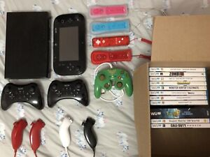 Wii u everything in pictures included (read description)