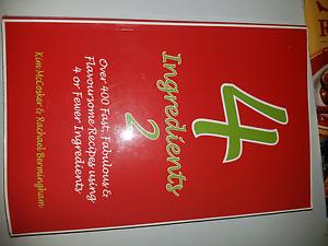 4 Ingredients Recipe Book Bundle Albany Creek Brisbane North East Preview