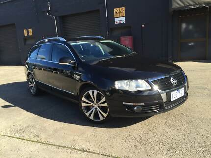 2007 Volkswagen Passat Wagon 3.2L V6 AUTO DSG ALLOYS LEATHER