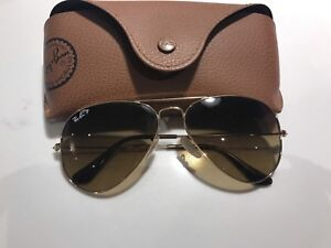 Authentic Ray-Ban glasses polarized