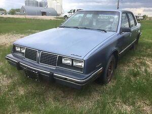 1984 Pontiac 6000 Safetied