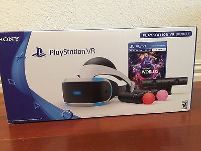 Sony PlayStation 4 VR Launch Bundle (PS4) NEW! Factory Sealed! Ready to Ship!