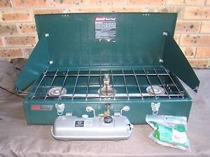 Coleman 3 Burner Dual Fuel Powerhouse Stove - Model 428-700 Wyoming Gosford Area Preview
