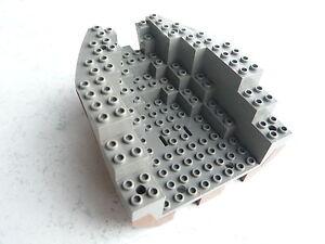 Lego Schiffsrumpf dunkelgrau/alt-braun 14x12x5&1/3 für u.a. 6268 6271 - <span itemprop=availableAtOrFrom>Graz-St. Veit, Österreich</span> - Lego Schiffsrumpf dunkelgrau/alt-braun 14x12x5&1/3 für u.a. 6268 6271 - Graz-St. Veit, Österreich