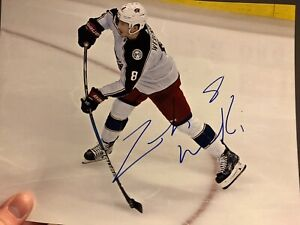 Signed hockey picture