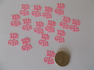 Baby Sprinkle Decorations (50 PINK ITS A GIRL BABY SHOWER CONFETTI TABLE SPRINKLES)