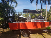 5.2m boat with 70hp Suzuki Bees Creek Litchfield Area Preview