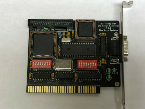 ISA 8bit High Density Floppy 1.44 MB , 2.88 MB + Boot ROM + Serial