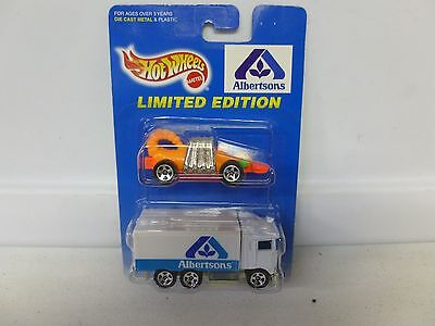 Hot Wheels Limited Edition 2 Car Pack Albertsons W  Monster Racer