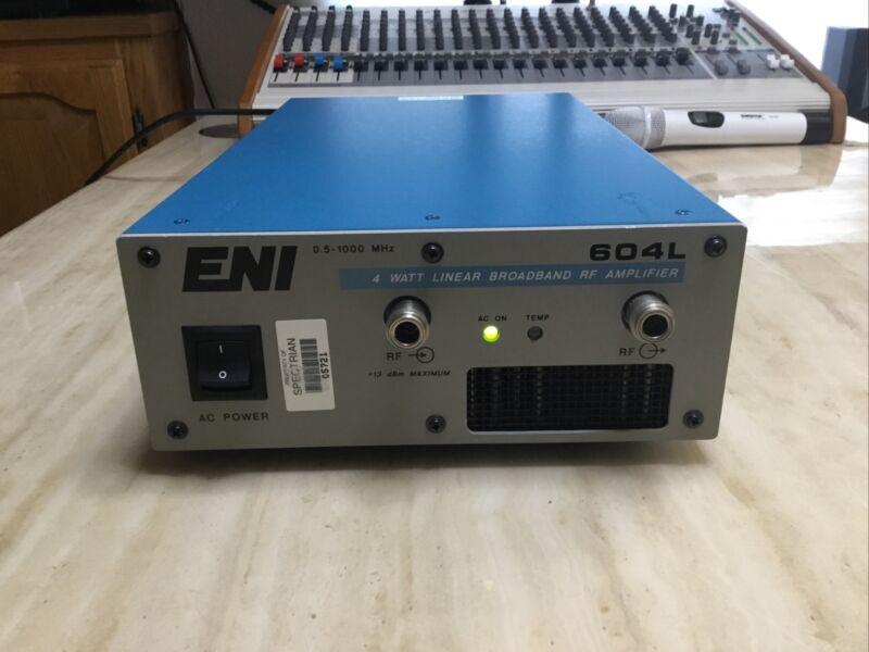 ENI 604L 4 Watt 1 GHz Linear Broadband RF Amplifier ( Working )