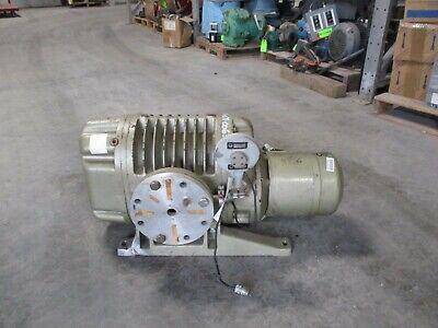 Leybold Ruvac Vacuum Pump Ws1000 Cat11641-1 With 3.3kw Motor 1101034t Used