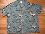 Mens Hawaiian Shirt 3XL