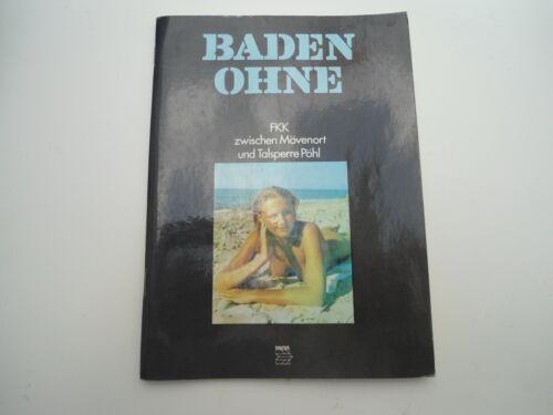 Baden Ohne - FKK zwischen Mövenort und Talsperre Pöhl 1985 DDR Ostalgie