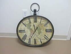 Columbus Wall Clock Large Size By JB Global World Clock