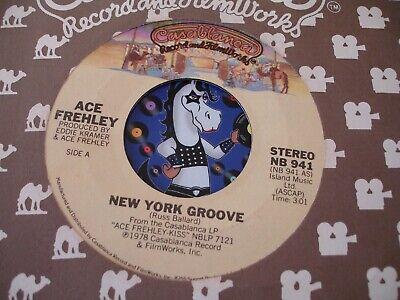"Kiss  Ace Frehley  ""New York Groove"" Casablanca  NB 941 ~  7"", 45 RPM single"