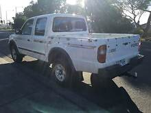 2000 Ford Courier Ute Dual Cab diesel turbo 4x4 Fawkner Moreland Area Preview