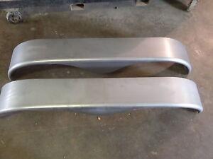 2 New Boat Utility Car Trailer Dual Tandem Steel Fender 9 x 70  x 14