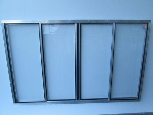 "33"" X 53"" Concession Window Glass"