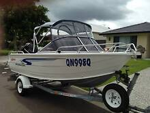 STACER SUNMASTER SPORTS 469 WITH MERCURY 4 STROKE Caboolture Area Preview