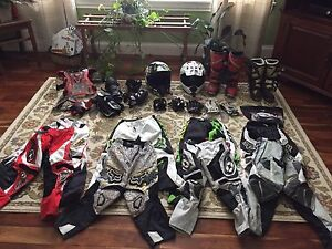 Child dirt bike gear