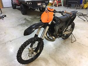 KTM 250sx Dirt Bike