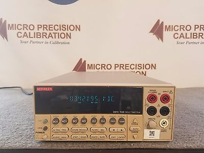 Keithley 2015 6 12 Digit Thd And Audio Analysis Multimeter   As Is