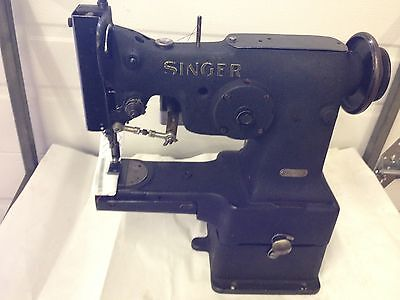 Singer 107w50  3 Step Zig Zag  Cylinder Bed  Industrial Sewing Machine